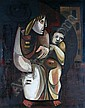 Joël Kass (Israeli, born 1937) Mother and Child,, Joel Kass, Click for value