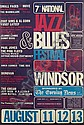 A poster for the 7th National Jazz & Blues Festival,, Bob Quick, Click for value