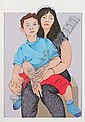 Alasdair Gray (British, born 1934) Mother and child, Alasdair Gray, Click for value