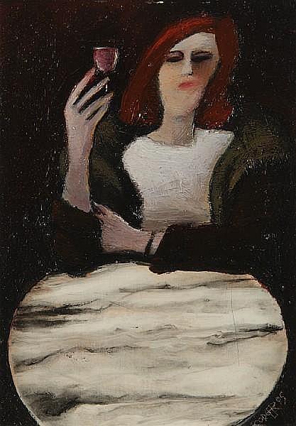 Willie Rodger ARSA (British, 1930) 'Waiting'