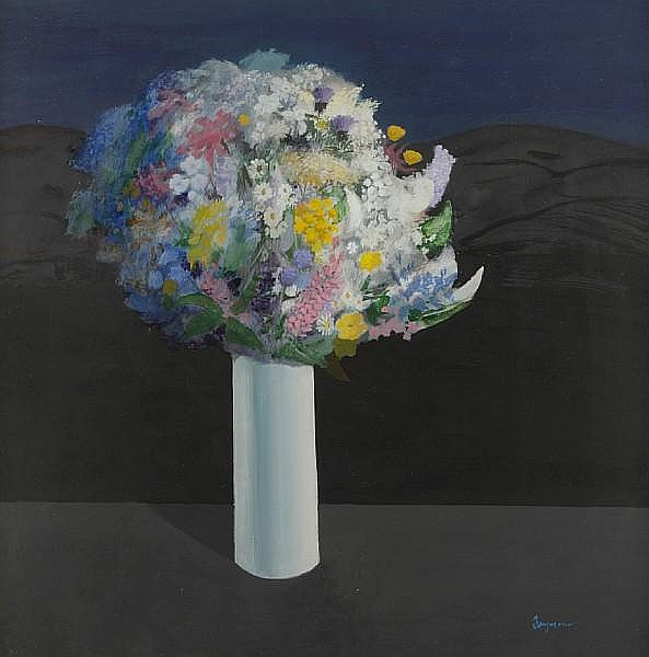 Danny Ferguson, RSW (British, 1925-1993) 'Wild flowers'