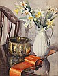 Janetta Susan Gillespie, RSW (British, 1876-1956) Daffodils, Janetta Gillespie, Click for value