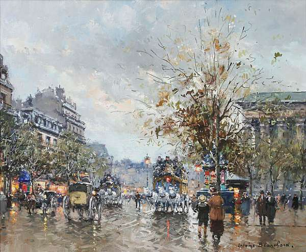 Antoine Blanchard (French 1900 - 1988)