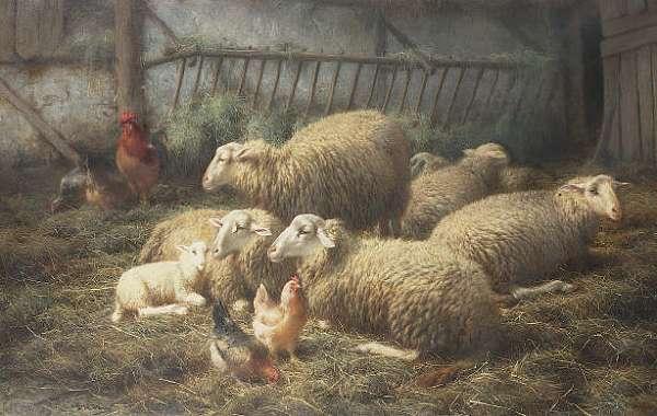 Eugène Remy Maés (Belgian 1849-1931)