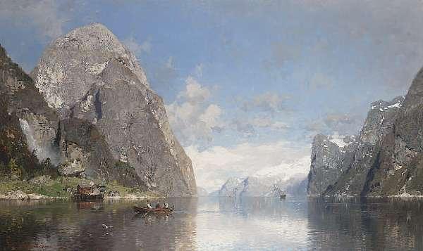 Georg Anton Rasmussen (Norwegian 1842-1914)