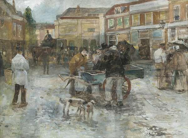 Adriaan de la Riviere (Dutch, 1857-1941)