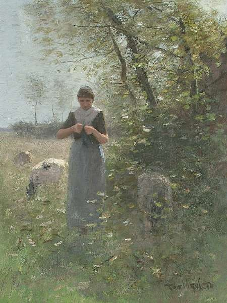 Frans Pieter Ter Meulen (Dutch, 1843-1927)