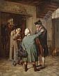 Jean Baptiste Madou (Belgian, 1796-1877) A reassuring friend, Jean-Baptiste Madou, Click for value