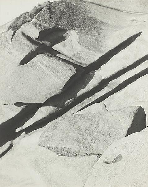 Erna Lendvai-Dircksen (German, 1883-1962) Gesteinsstudie (studies of stones), 1940s Each sight area approx. 38.5 x 48.5cm (15 3/16 x 19 1/8in) or the reverse.