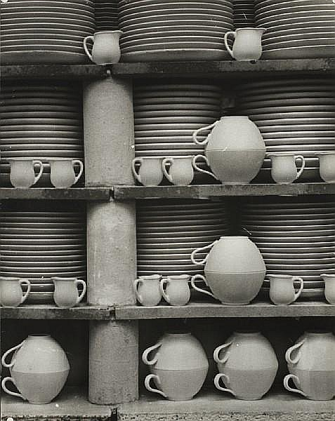 Erna Lendvai-Dircksen (German, 1883-1962) Geschirrstudie (study of china), 1940s 50.8 x 41cm (20 x 16 1/8in).