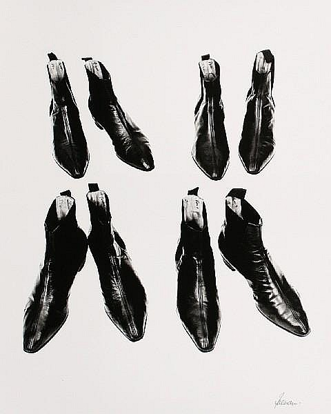 Robert Freeman (British, born 1936), 'Beatles' Boots', 1964
