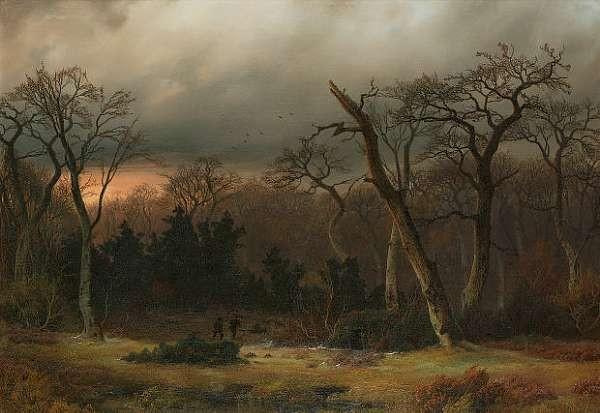 Johann Gustav Lange (German 1811-1887)
