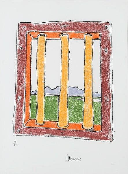 Nelson Rolihlahla Mandela (South African, born 1918) The window