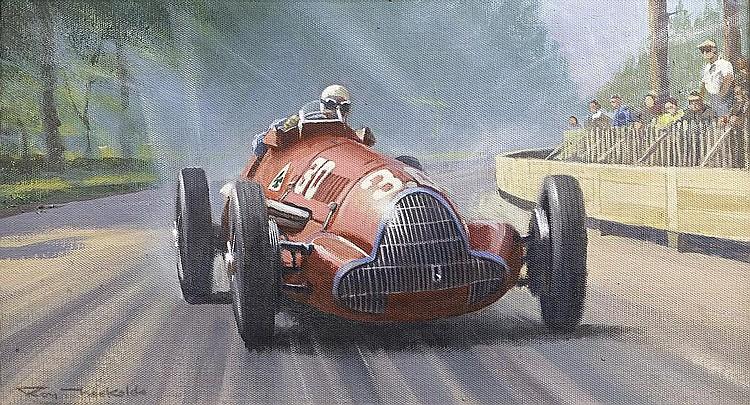 Roy Nockolds (1911-1980), 'Jean Pierre Wimille Alfa Romeo 158',