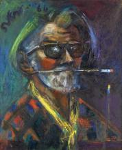Sven Berlin (British, 1911-1999) Self-Portrait