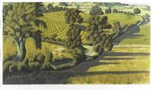 Simon Palmer (British, born 1956) Junction at High Newstead and Hammer Farm
