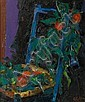 Juan Abello Prat (Spanish, born 1922) The blue chair, Juan Abelló Prat, Click for value