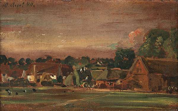 John Constable, RA (East Bergholt 1776-1837 London)
