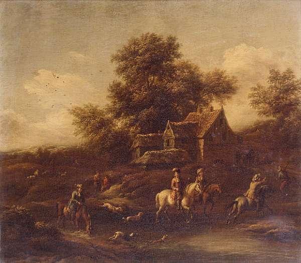 Barent Gael (Haarlem circa 1635-after 1681 Amsterdam)