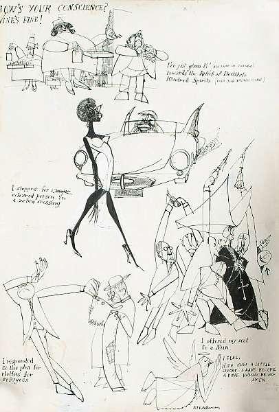 Ralph Steadman (British, b.1936)