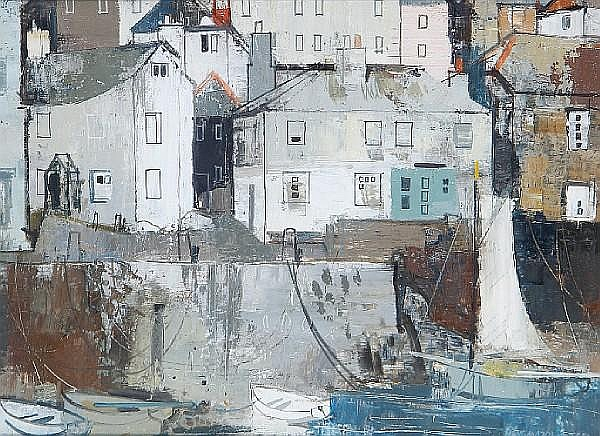 George Hammond Steel (British, 1900-1960) 'St Mawes - Cornwall'