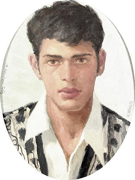 Henry Robertson Craig (British, 1916-1984) 'Muhamed'; 'Mustapha'; 'Abd el Kader' each 23 x 17.5cm (9 x 7in)(oval)(3)