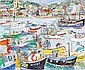 Linda Weir (British, born 1951) 'Fisherman St Ives, brilliant colours, August 2010', Linda Weir, Click for value