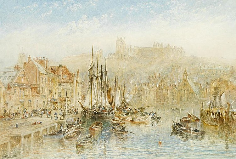 George Weatherill (British, 1810-1890) Whitby