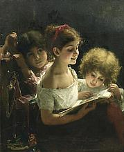 ALEXEI ALEXEEVICH HARLAMOFF (1840-1925)   The story book   s