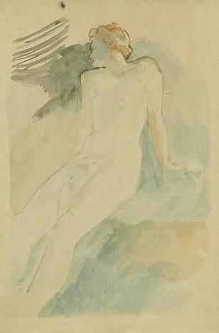 FEDOR (FIDELIO) ANTONOVICH BRUNI   (1799-1875)   Female nude