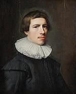 ATTRIBUTED TO JAN DAEMEN COOL (ROTTERDAM 1589-1660) Portrait of a gentleman, bust-len