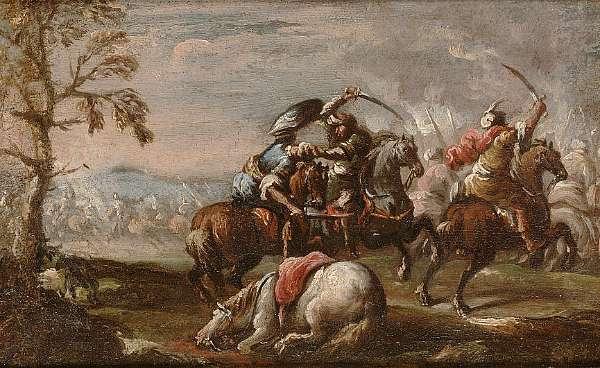 Francesco Graziani, called Ciccio Napolitano (active Naples and Rome second half of 17th Century)