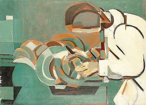 Jacques Lagrange (French, 1917-1995)