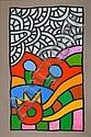 Alexis Akrithakis (Greek, 1939-1994) Composition 151 x 100 cm., Alexis Akrithakis, Click for value