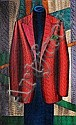 Pavlos (Dionyssopoulos) (Greek, b.1930) Red jacket 111 x 69 x 7 cm., Pavlos  Dionyssopoulos, Click for value