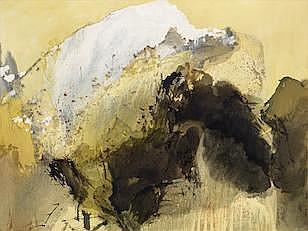 Chung Ray Fong B. 1933  Painting 82-71
