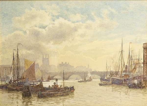 Henry Menzies Marshall R.W.S., R.E., (British, 1841-1913)