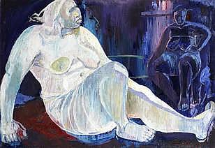 AMON KOTEI (Ghanaian, 1915-2011) 'African Venus'