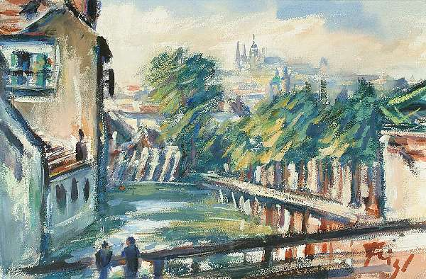 Friedrich Feigl (German, 1884-1965)