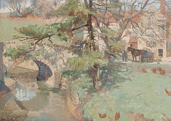 Adrian William Herbert Chorley (British, born after 1906-) Gant's Mill, Bruton, Somerset