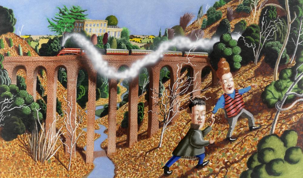 Richard Adams (British, born 1960) Towards Winter