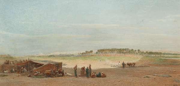 Edward Angelo Goodall R.W.S., (British, 1819-1908)