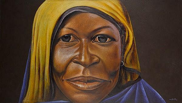 Velaphi Mzimba (South African, born 1959) Tsonga 170 x 304 cm. (67 x 119¾ in.)