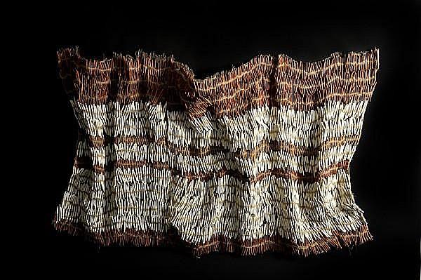 Nnenna Okore (Nigerian, born 1975) Ashoebi II, 2008 127 x 229 x 18cm (50 x 90 3/16 x 7 1/6 in)