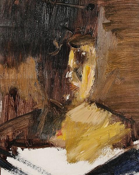 Nicolas Granger-Taylor (British, born 1968) Portrait study