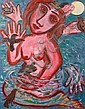 Eileen Cooper (British, born 1953) Woman bathing in her own tears, Eileen Cooper, Click for value