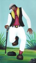 Camille-Pierre Pambu Bodo (Democratic Republic of Congo, 1953-2015) Sappeur - Bodo Star