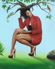 Camille-Pierre Pambu Bodo (Democratic Republic of Congo, 1953-2015) Femme Arbre