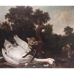Dirck Wyntrack (Drenthe before 1625-1687 The Hague) and Joris van der Haagen (Arnhem circa 1615-1669 The Hague) 51 3/4 x 61 in. (131.5