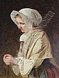 James Hayllar (British, 1829-1920) 'Boulogne Fishwoman' Estimate: £1,000 - 1,500
